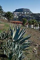 Spanien, Kanarische Inseln, Gomera, Chipude und Fortaleza