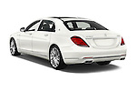 Car pictures of rear three quarter view of 2017 Mercedes Benz S-Class Maybach 4 Door Sedan Angular Rear