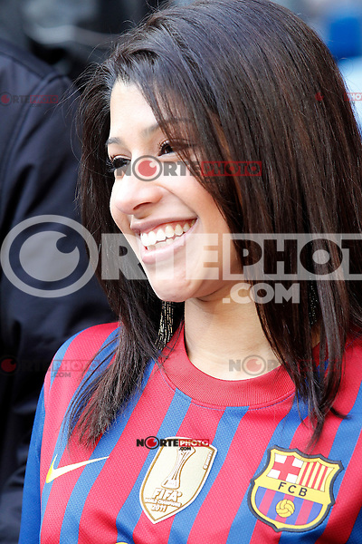 FC Barcelona's supporter during La Liga match.March 02,2013. (ALTERPHOTOS/Acero) /NortePhoto