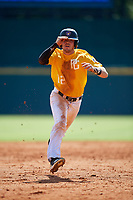 Ashtin Webb (12) of Mesa High School in Mesa, AZ during the Perfect Game National Showcase at Hoover Metropolitan Stadium on June 18, 2020 in Hoover, Alabama. (Mike Janes/Four Seam Images)
