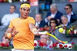 Spanish Rafa Nadal during Mutua Madrid Open 2018 at Caja Magica in Madrid, Spain. May 11, 2018. (ALTERPHOTOS/Borja B.Hojas)