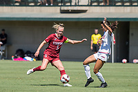 STANFORD, CA - SEPTEMBER 12: Sierra Enge during a game between Loyola Marymount University and Stanford University at Cagan Stadium on September 12, 2021 in Stanford, California.