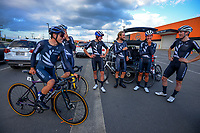 The NZ National Team. Masterton circuit team time trials - Stage One of 2021 NZ Cycle Classic UCI Oceania Tour at Mitre 10 Mega in Masterton, New Zealand on Wednesday, 13 January 2021. Photo: Dave Lintott / lintottphoto.co.nz