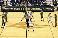 SAN ANTONIO, TX - FEBRUARY 2, 2018: The University of Texas at San Antonio Roadrunners defeat the University of North Texas Mean Green 70-58 at the UTSA Convocation Center. (Photo by Jeff Huehn)