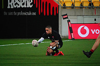 Aaron Smith scores during the rugby match between North and South at Sky Stadium in Wellington, New Zealand on Saturday, 5 September 2020. Photo: Dave Lintott / lintottphoto.co.nz