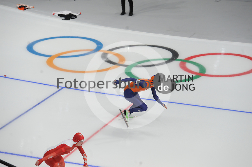 OLYMPIC GAMES: PYEONGCHANG: 18-02-2018, Gangneung Oval, Long Track, 500m Ladies, Jorien ter Mors NED), ©photo Martin de Jong