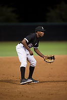 AZL White Sox third baseman Bryce Bush (61) during an Arizona League game against the AZL Diamondbacks at Camelback Ranch on July 12, 2018 in Glendale, Arizona. The AZL Diamondbacks defeated the AZL White Sox 5-1. (Zachary Lucy/Four Seam Images)