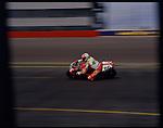 Feb, 1997-Phoenix Raceway. Matt Mladdin of Australia wins the Phoenix Raceway Super bike Championship on a Ducati.