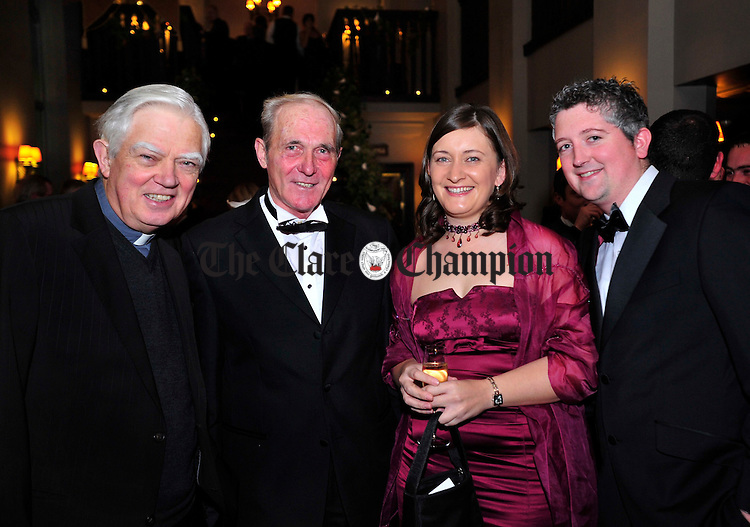 Bishop Willie Walsh, John Quinn from Tulla, siobhan O' Callaghan from Cratloe and Gerard Casey from Limerick.