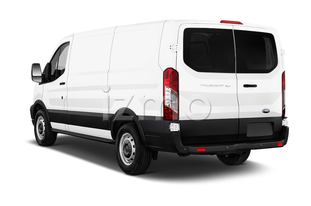 Car pictures of rear three quarter view of a 2015 Ford Transit 150 Van 2 Door  Angular Rear
