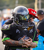 NHRA Mello Yello Drag Racing Series<br /> Dodge NHRA Nationals<br /> Maple Grove Raceway<br /> Reading, PA USA<br /> Friday 22 September 2017 Alexis DeJoria, Patron, funny car, Toyota, Camry, Jesse James<br /> <br /> World Copyright: Mark Rebilas<br /> Rebilas Photo