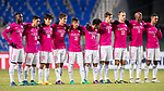 Kitchee SC squad during their AFC Champions League 2017 Playoff Stage match between Ulsan Hyundai FC (KOR) vs Kitchee SC (HKG) at the Ulsan Munsu Football Stadium on 07 February 2017 in Ulsan, South Korea. Photo by Chung Yan Man / Power Sport Images