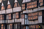 Staple Inn, High Holborn London. Building dates from 1585, originally attached to Grays Inn which was one of the four Inns of Court.
