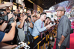 Allen Iverson during the Red Carpet event at the World Celebrity Pro-Am 2016 Mission Hills China Golf Tournament on 20 October 2016, in Haikou, China. Photo by Weixiang Lim / Power Sport Images
