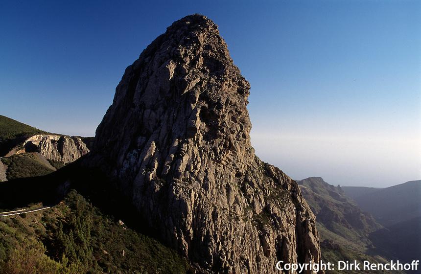 Spanien, Kanarische Inseln, Gomera, Roque de Agando