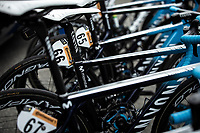 Team Movistar bikes race ready<br /> <br /> Stage 12: Toulouse to Bagnères-de-Bigorre (209km)<br /> 106th Tour de France 2019 (2.UWT)<br /> <br /> ©kramon