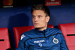 Club Brugge's Jelle Vossen during UEFA Champions League match between Atletico de Madrid and Club Brugge at Wanda Metropolitano Stadium in Madrid, Spain. October 03, 2018. (ALTERPHOTOS/A. Perez Meca)