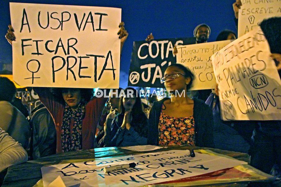 Manifestaçao 13 de maio de luta no Largo da Batata. Sao Paulo. 2015. Foto de Lineu Kohatsu.
