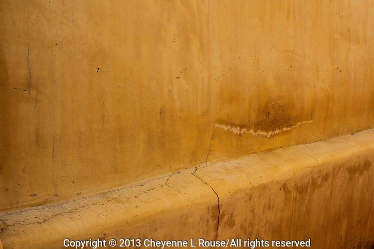 Adobe wall detail - Arizona