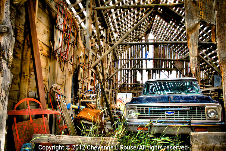 Chevy Barn - Utah