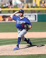Brett de Geus - Los Angeles Dodgers 2020 spring training (Bill Mitchell)