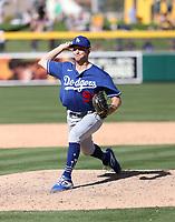 Brett de Geus - Los Angeles Dodgers 2020 spring training (Bill Mitchell)