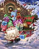 Dona Gelsinger, CHRISTMAS SANTA, SNOWMAN, WEIHNACHTSMÄNNER, SCHNEEMÄNNER, PAPÁ NOEL, MUÑECOS DE NIEVE, paintings+++++,USGE2106,#x#