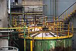 Industria Caffaro la fabbrica bresciana attiva dal 1906 è.sotto sequestro da parte della magistratura a causa di alti livelli di cromo trovati nell'acqua ambiente Brescia 10/02/2021 Caffaro industry Brescia factory active since 1906 is under seizure by judiciary due to environmental pollution due to high levels of chromium found in the water environment Brescia 10/02/2021