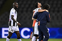 Rolando Mandragora of Udinese Calcio leaves the pitch injured during the Serie A football match between Torino FC and Udinese at Olimpico stadium in Torino ( Italy ), June 23th, 2020. Play resumes behind closed doors following the outbreak of the coronavirus disease. <br /> Photo Image Sport / Insidefoto