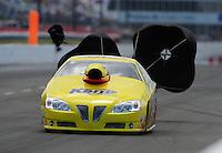 May 14, 2011; Commerce, GA, USA: NHRA pro stock driver Rodger Brogdon during qualifying for the Southern Nationals at Atlanta Dragway. Mandatory Credit: Mark J. Rebilas-
