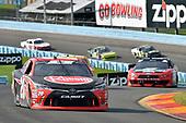 #20: Christopher Bell, Joe Gibbs Racing, Toyota Camry Rheem, #22: Joey Logano, Team Penske, Ford Mustang Snap On