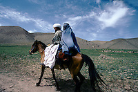 The road to the Menar e Jam in the Ghor province - Afghanistan. .From western Afghan capital Herat to the former capital of the Ghorides Empire Fîrûzkôh, next to the Mena e Jam.