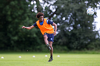 Sido Jombati during the Wycombe Wanderers 2016/17 Pre Season Training Session at Wycombe Training Ground, High Wycombe, England on 1 July 2016. Photo by Andy Rowland / PRiME Media Images.