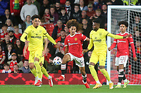 Hannibal of Manchester United in action during Manchester United vs Brentford, Friendly Match Football at Old Trafford on 28th July 2021