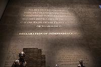 Washington- National Museum of African American History and Culture<br /> dichiarazione di indipendenza 1776