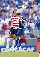 Chris Wondolowsi, Victor Pacheco.  The United States defeated El Salvador, 5-1, during the quarterfinals of the CONCACAF Gold Cup at M&T Bank Stadium in Baltimore, MD.