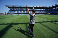 SAN JOSE, CA - AUGUST 8: Los Angeles FC head coach Bob Bradley before a game between Los Angeles FC and San Jose Earthquakes at PayPal Park on August 8, 2021 in San Jose, California.