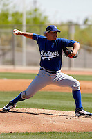 Robert Blevins - Los Angeles Dodgers - 2009 spring training.Photo by:  Bill Mitchell/Four Seam Images