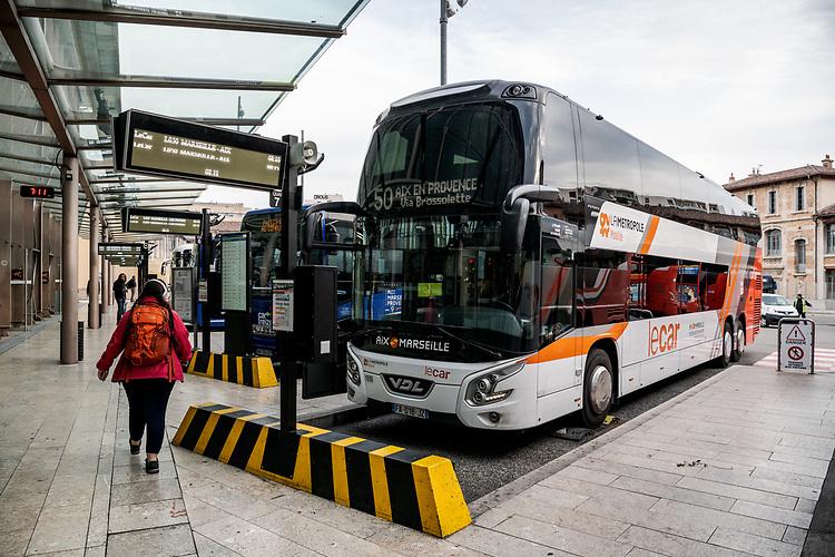 Gare routière - Marseille