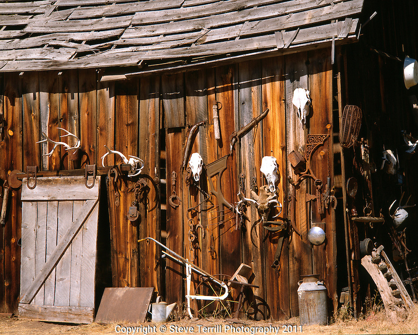 Livery stable in eastern Oregon