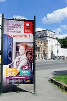 Tor der Morgenröte Ausros Vartu in Vilnius, Litauen, Europa, Unesco-Weltkulturerbe
