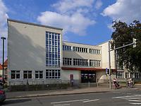 Bauhaus Altstädter Schule-Glasschule von Otto Haesler 1927/28, Celle, Niedersachsen, Deutschland, Europa<br /> Bauhaus Altstäder school = glasschool built by Otto Haesler 1920/1921, Celle, Lower Saxony, Germany, Europe