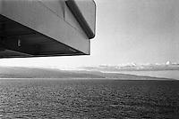 Stretto di Messina, veduta dal traghetto --- Messina strait, view from the ferry