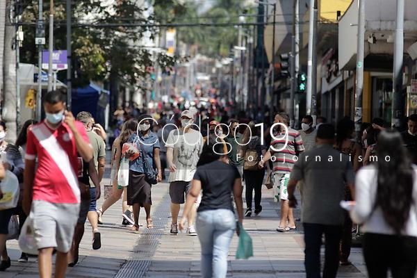 Campinas (SP), 03/09/2021 - Cidades - Movimentação na rua 13 de Maio, no centro da cidade de Campinas (SP), nesta sexta-feira (3).