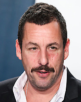 BEVERLY HILLS, LOS ANGELES, CALIFORNIA, USA - FEBRUARY 09: Actor Adam Sandler arrives at the 2020 Vanity Fair Oscar Party held at the Wallis Annenberg Center for the Performing Arts on February 9, 2020 in Beverly Hills, Los Angeles, California, United States. (Photo by Xavier Collin/PictureGroup)