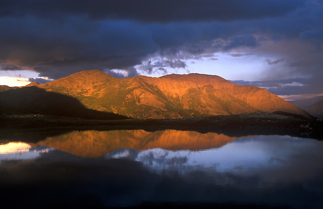 Mt. Elbert (highest peak in Colorado), San Isabel National Forest, Colorado