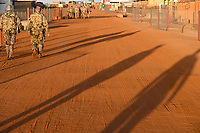 MALI, Gao, Minusma UN peace keeping mission, Camp Castor, german army Bundeswehr