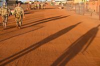 MALI, Gao, Minusma UN peace keeping mission, Camp Castor, german army Bundeswehr