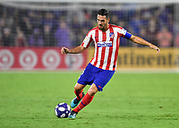 Orlando, FL - Wednesday July 31, 2019:  Koke #6 during an Major League Soccer (MLS) All-Star match between the MLS All-Stars and Atletico Madrid at Exploria Stadium.