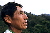 San Juan del Oro, Peru. Portrait of a man.